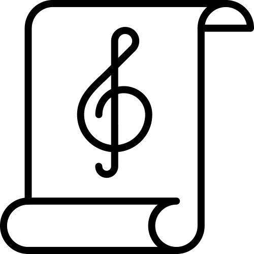 Sheet Music Icon