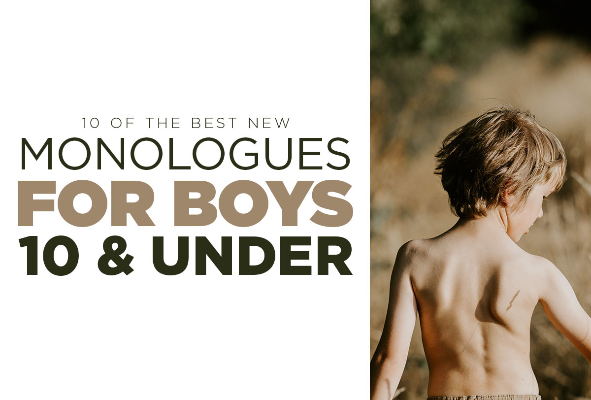 Monologues for boys 10 and under_Metadata