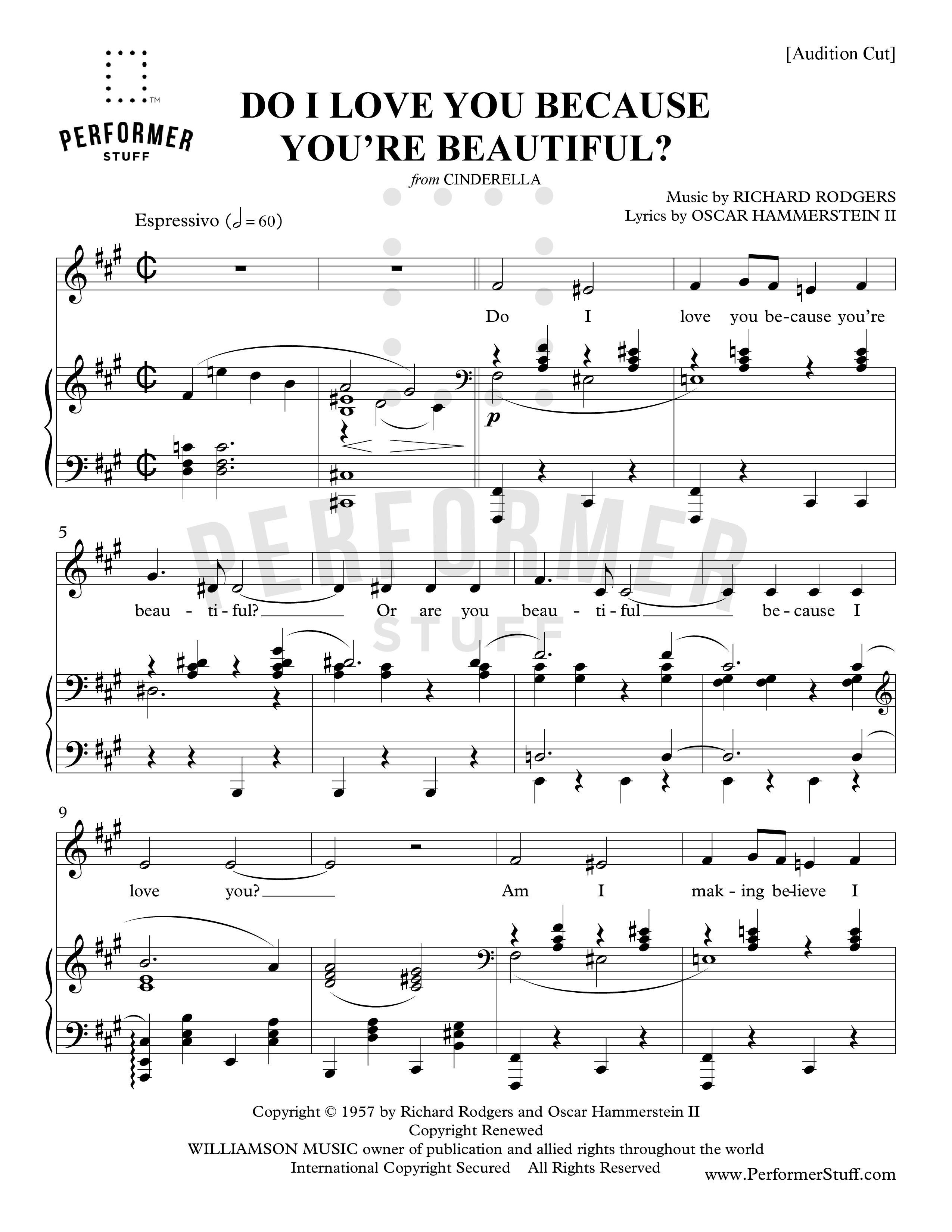 Do I Love You Because You're Beautiful?